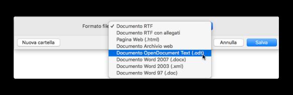 textedit formato file
