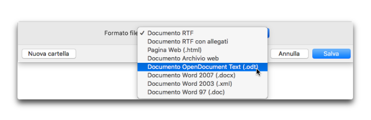 textedit formato file