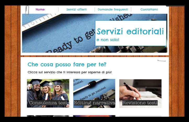 home page sito romina tamerici