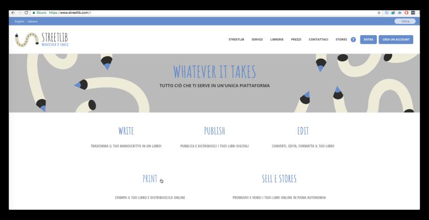 home page streetlib