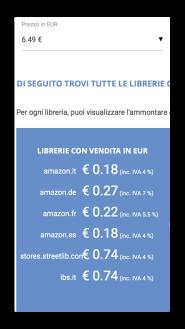 prezzo cartaceo