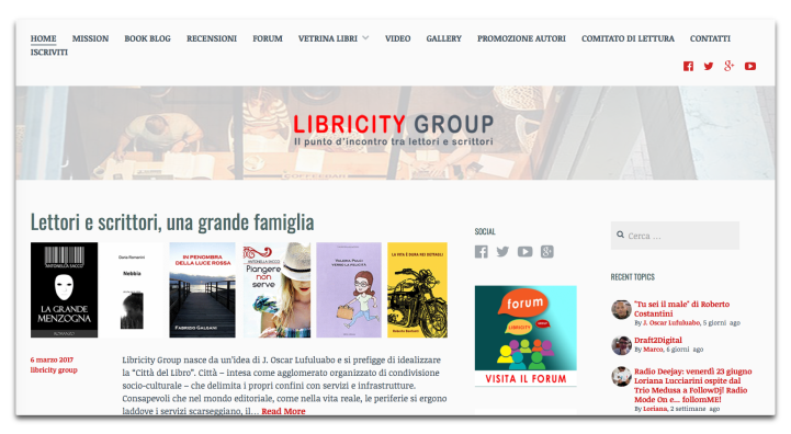 home page libricity group