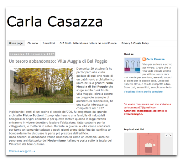 blog carla casazza