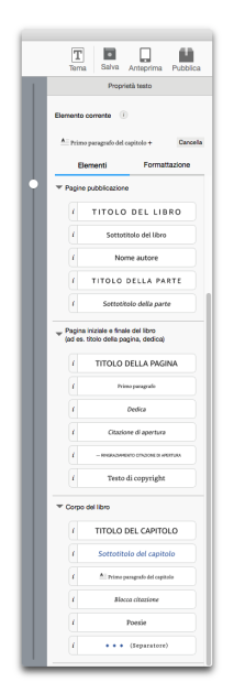 kindle create proprietà testo