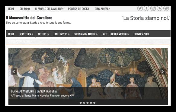 home page il manoscritto del cavaliere