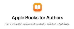 apple books for authors