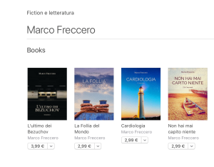 ebook di freccero su libri di apple